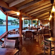 Antigua Restaurants Cloggy S Caf 233 English Harbour