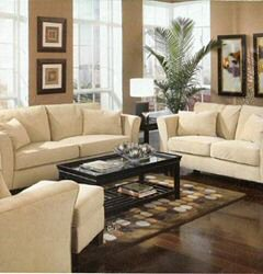 Living Spaces,Antigua Furnishings Or Interiors:couch And Other Living Room  Furnitures