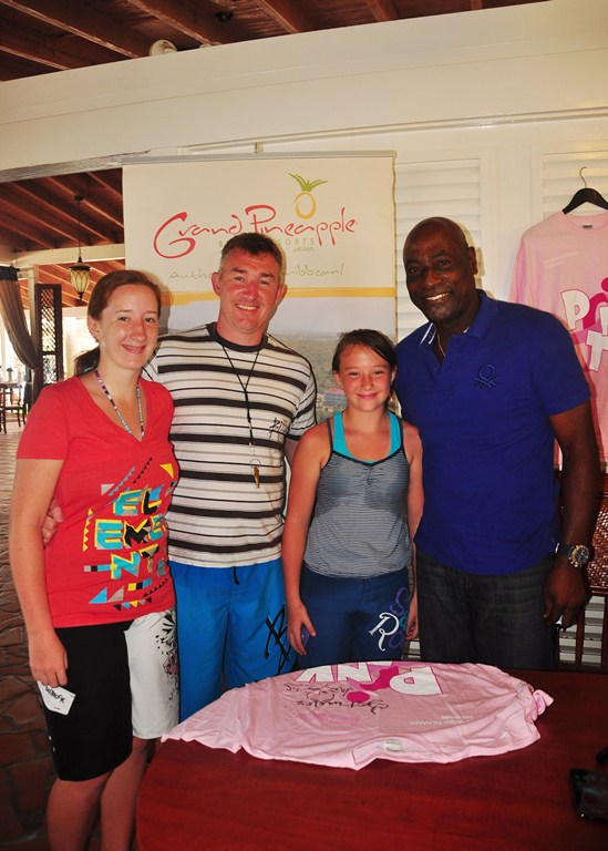 Sandals And Grand Pineapple Partner With Sir Viv In Support Of Breast Friends