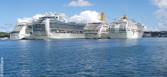 Antigua Tourism Cruise Ship Schedule July September 2013