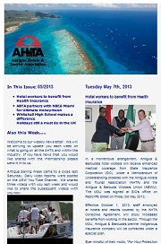 AHTA Newsletter