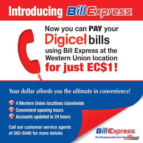Antigua News: Digicel Introducing Bill Express