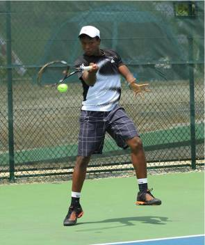 Two young-talented Antiguan tennis players earned athletic Scholarships