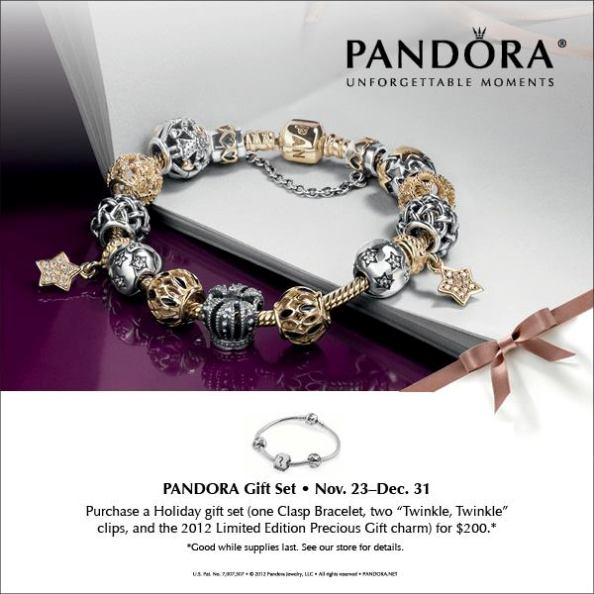 Pandora Christmas Gift Set: Pandora Holiday Gift Set