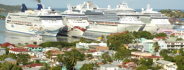 Cruise Ship Schedule January March - How many cruise ships in port schedule