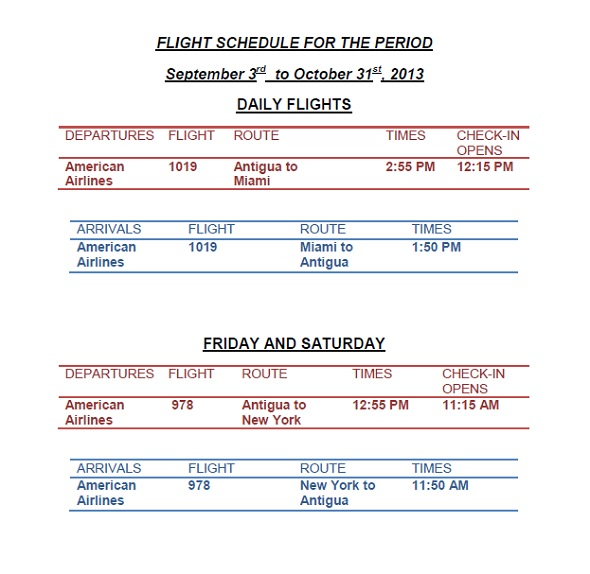american eagle airlines flights and schedules