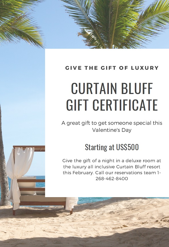 Antigua Special Offers Valentine S Day Gift Certificate