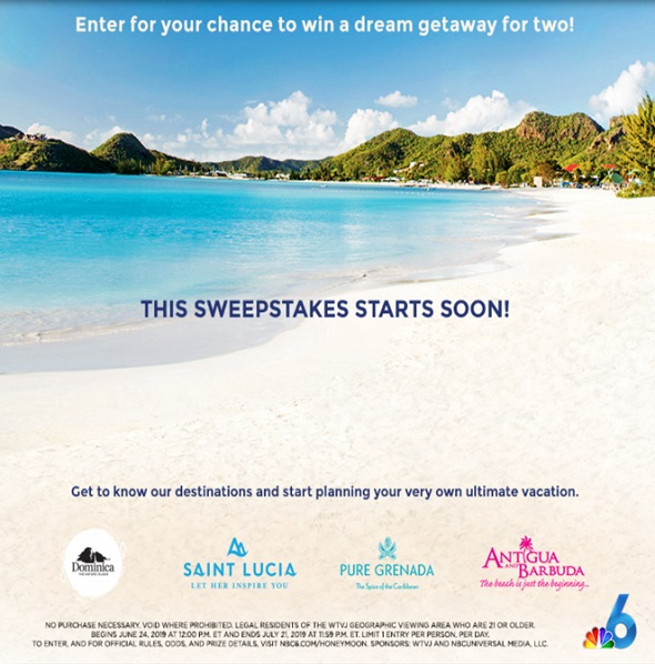 Antigua News: A & B Features as the Ultimate Honeymoon