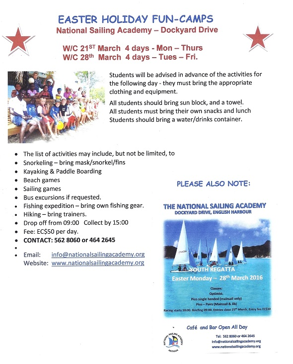 easter holidays 2016