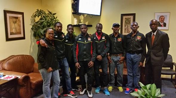 Antigua news pan american games track team