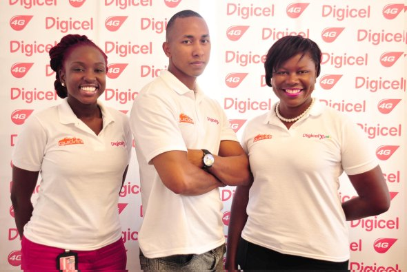 Digicel Antigua 'HAPPY' . Taking a moment to celebrate the ...