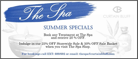Antigua Special Offers Summer Spa Sale