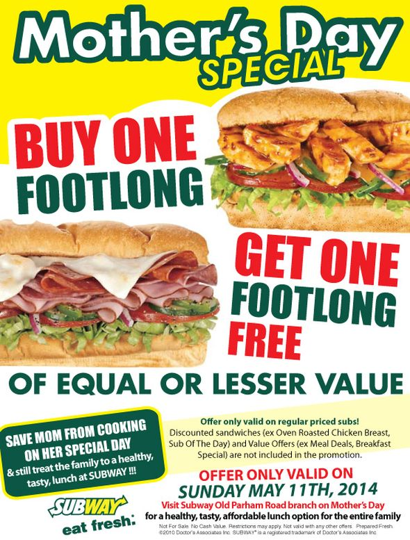 Browse Subway South Africa Menu for , and Breakfast Menu Prices & Specials. Don't miss the Subway restaurant specials, sandwich menu offers, and the latest promotions & discounts.